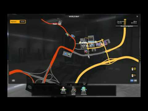 American Truck Simulator-delivery 44-Roadroller from Ukiah (CA) to Grand Canyon Village (AZ)
