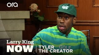 Tyler, the Creator Hates Rapping | Tyler the Creator | Larry King Now - Ora TV