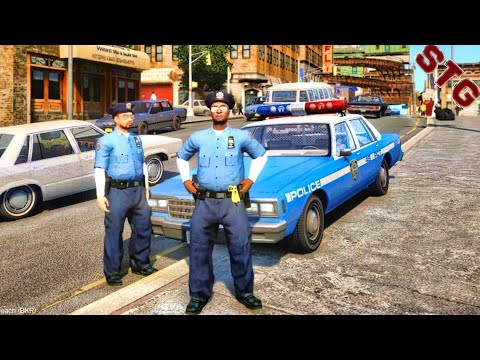 GRAND THEFT AUTO 4 MODS LCPDFR #111 - NYPD 1980'S PATROL (GTA 4 PC POLICE MODS)