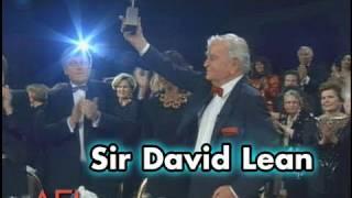 Sir David Lean Accepts the AFI Life Achievement Award in 1990