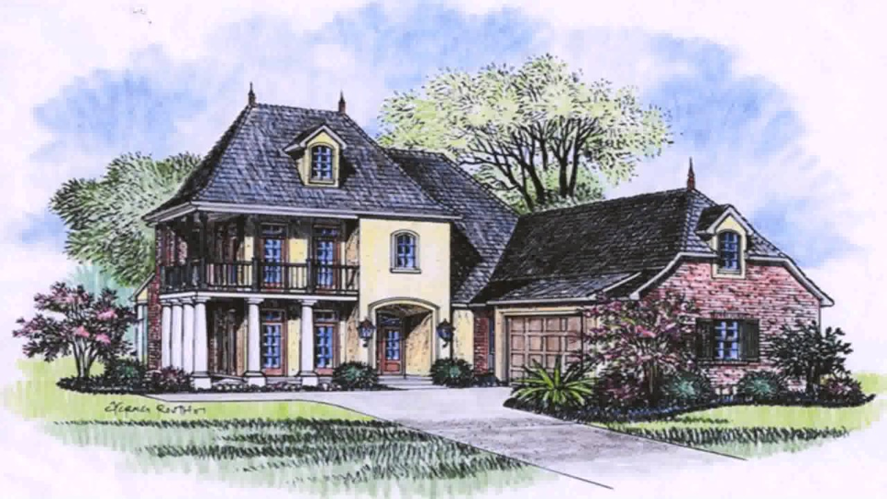 Acadian style homes images youtube for Acadian home builders
