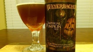 Weyerbacher Imperial Pumpkin Ale ((2012 Vintage)) Djs Brewtube Beer Review #395