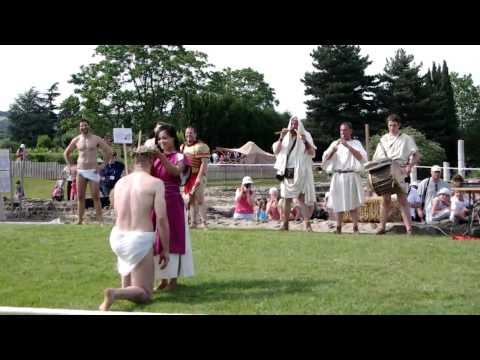 les journées gallo romaines 2012 saint romain gal