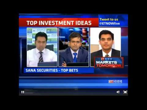 Rajat Sharma | Sana Securities on ET NOW Markets Tomorrow
