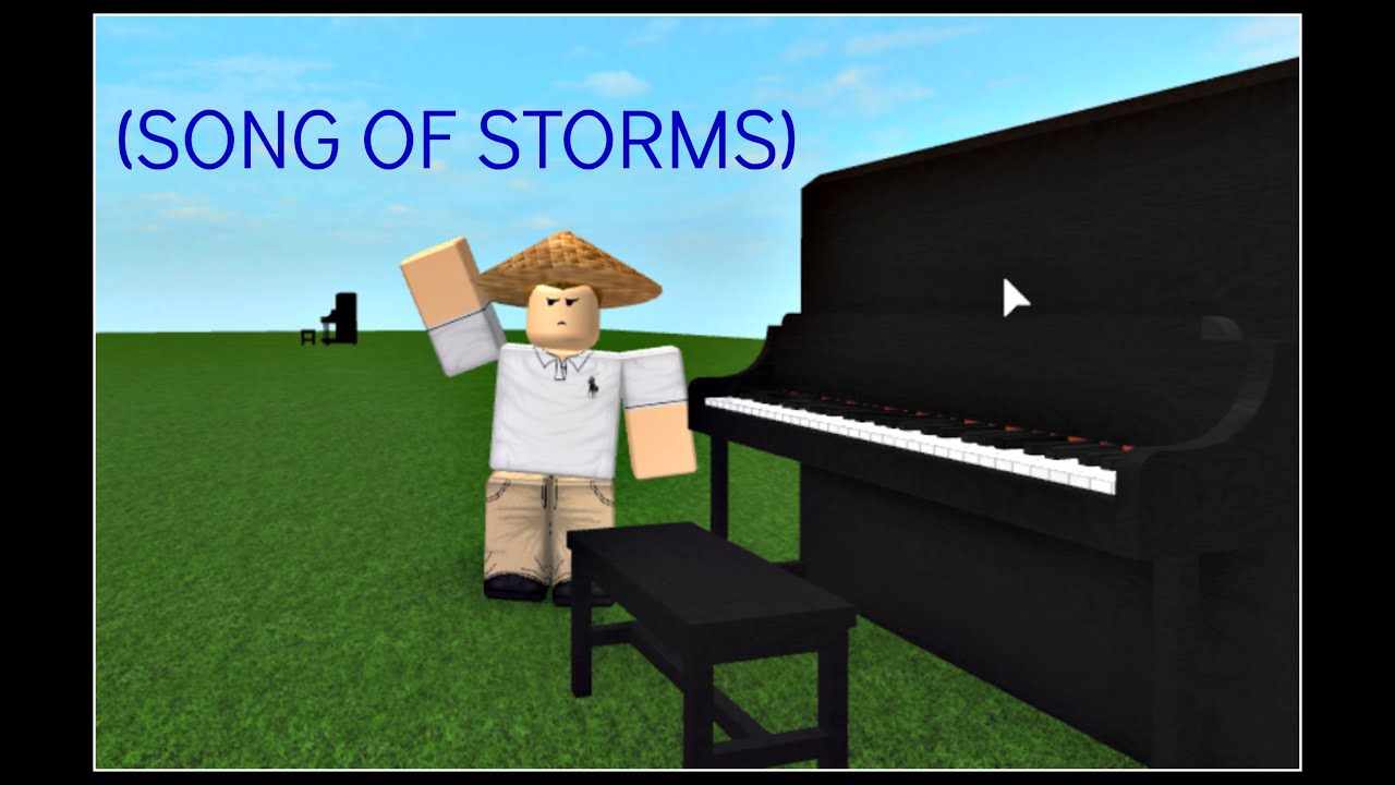 how to play song of storms on roblox piano youtube. Black Bedroom Furniture Sets. Home Design Ideas