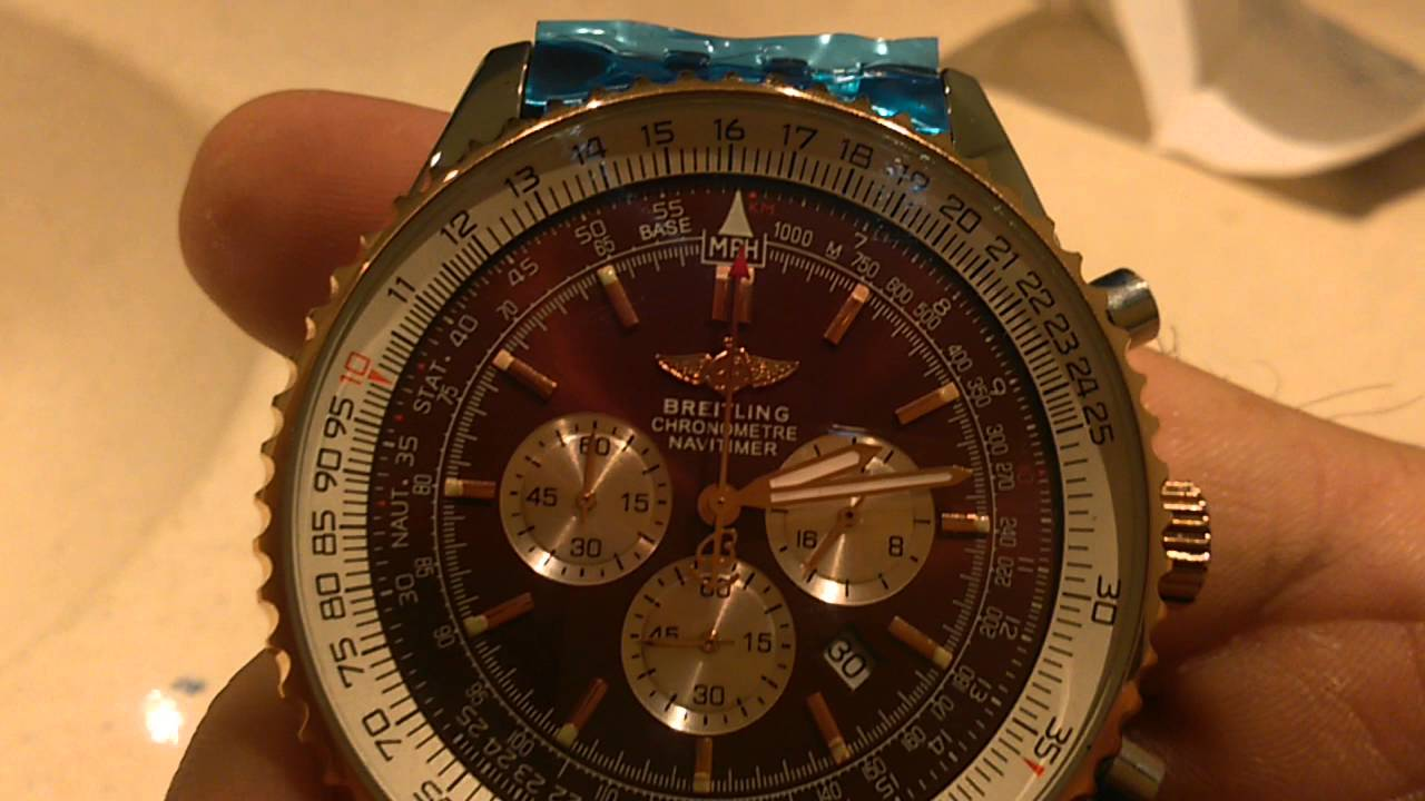 Watch breitling aliexpress