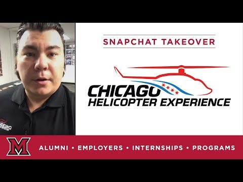 Thomas' Marketing Internship for Chicago Helicopter Experience in Chicago, IL