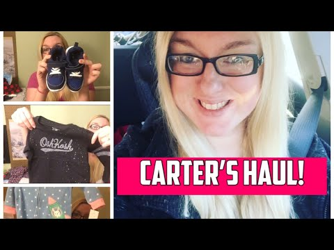 Carter's Haul | After Christmas Sale | Kid's Clothes