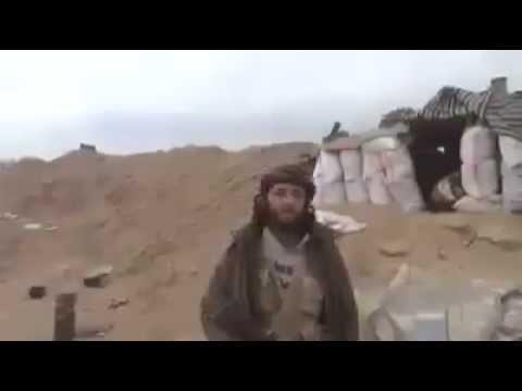 Air Strike Interrupts Terrorist Propaganda Video