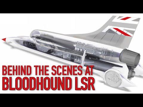 Bloodhound LSR - Behind The Scenes