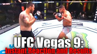 UFC Vegas 9 (Alistair Overeem vs Augusto Sakai): Reaction and Results
