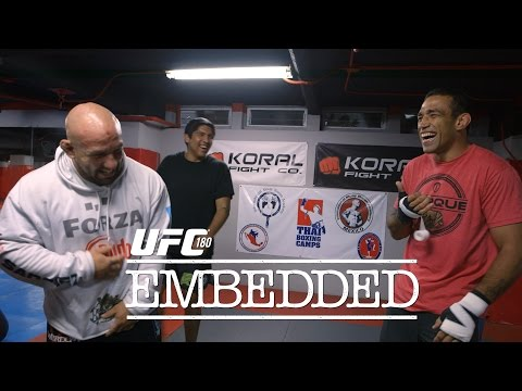 UFC 180 Embedded: Vlog Series - Episode 3