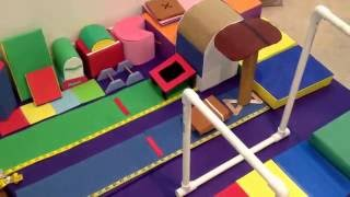 An updated tour of my ag doll gymnastics academy!