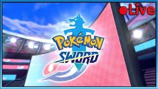 Pokemon Sword - Gym Challenge! - ???? Live