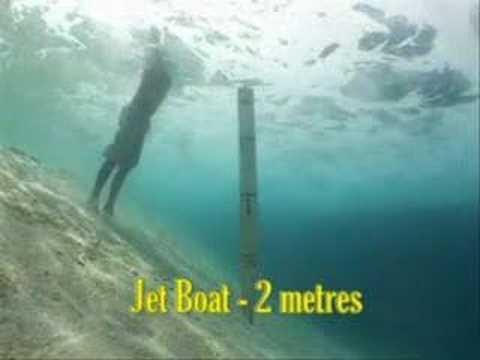 OzJet Boating - Tests in Vanuatu