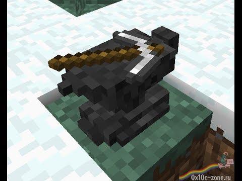 Обзор скрипта #13 Minecraft PE 0.8.1 [наковальня]