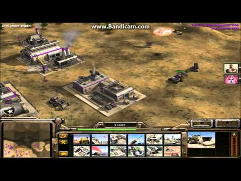 C&C Generals 1vs7 BRUTAL Army GLA