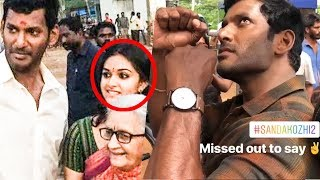 Keerthy Suresh's Video from the Sets of Sandakozhi 2