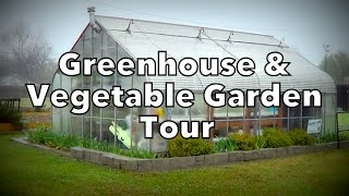 Greenhouse & Vegetable Garden Tour with Local Gardener