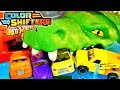 Hot Wheels Ultimate Gator Car Wash Color Shifters Changing Colors Cars City Playset