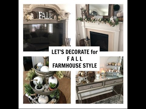 DECORATE FOR FALL WITH US! | FARMHOUSE STYLE | COZY FALL HOME DECOR TOUR!