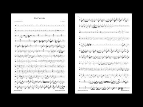 Vote No on : Drum Cover With Sheet Music