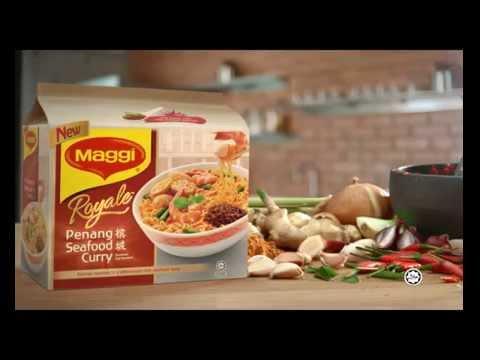 MAGGI ROYALE Penang Seafood Curry. Wah! Sooo... Penang!  (Mandarin)
