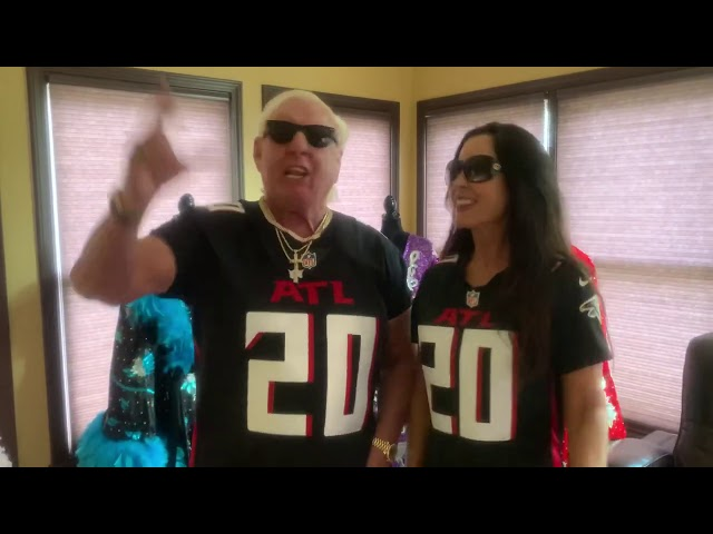 Ric Flair And The Falcons!