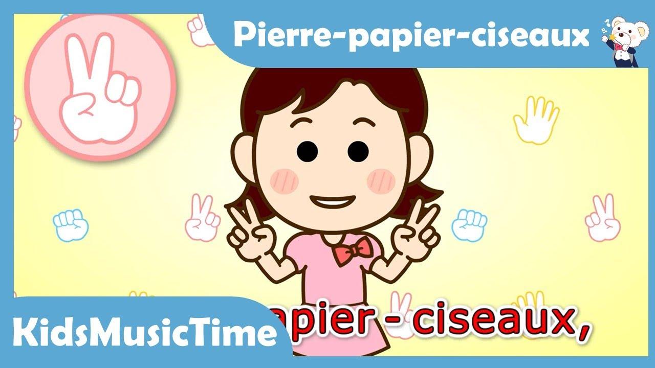 Pierre-papier-ciseaux, que faire avec? - Chanson d'nfants - Pierre papier ciseaux chanson français