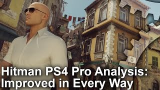 [4K] Hitman PS4 Pro vs PS4: Improved in Every Way