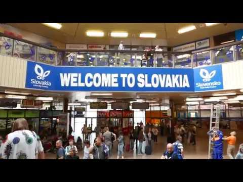 Vienna to Bratislava Train Ride 9 May 2018