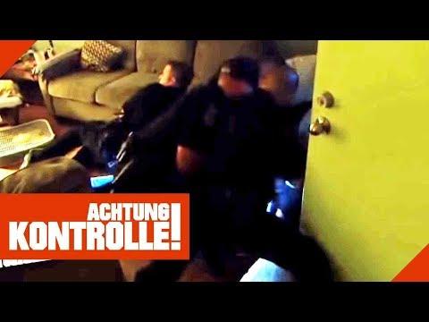 Widerstand gegen die US-Polizei! Handgemege endet mit Verhaftung!  Achtung Kontrolle   Kabel Eins