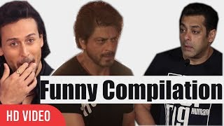Bollywood Celebrities Funny Moments Compilation 2017 | Salman Khan | Shahrukh Khan And More...