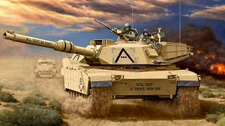Armored warfare/ps4/Abrams M1A2 типичный бой