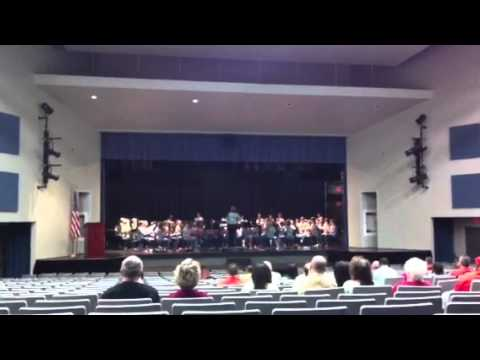 Princeton Community Middle School performs Metrix