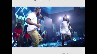 Tiwa Savage wizkid &slimcase share one stage...