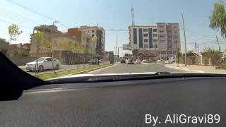 Zakho Kurdistan 2016  from Maximall road to Bedar
