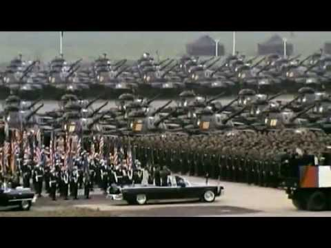 Präsident John F. Kennedy besucht Hessen 1963