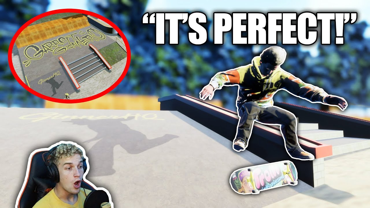 MY CUSTOM SKATE PARK JUST GOT A WHOLE LOT BETTER! | Skater XL
