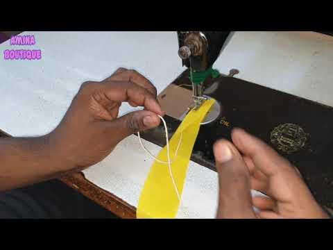 How To Attach Dori Wali Invisible Piping On Princess Cut