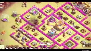 Clash of Clans/guerre de clans en ( gowipe)