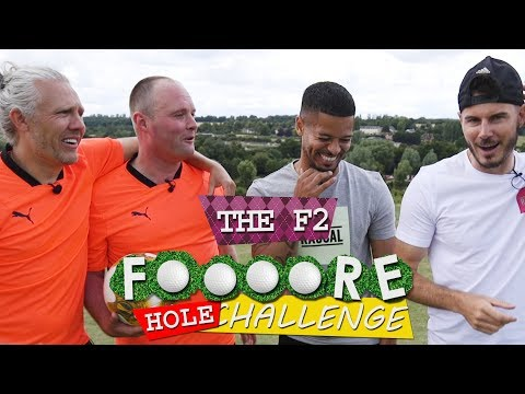FOOT GOLF WITH F2!!!! ⚽️⛳️| LOSER DOES DIRTY FORFEIT!