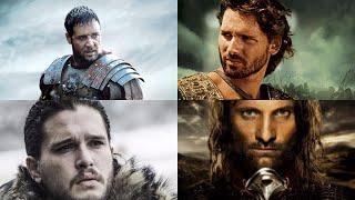 Джон Сноу, Гектор, Арагорн, Максимус Меридий. Великие воины разных времен и эпох