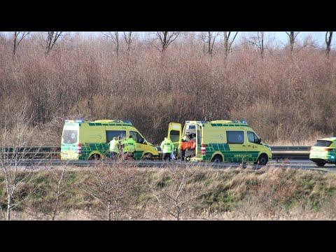 Flere uheld skabte problemer for påske trafikken på Vestmotorvejen