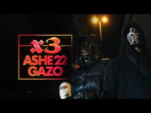 Youtube: ASHE 22 – X3 FEAT. GAZO