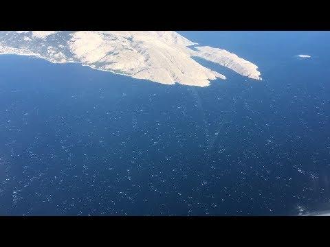 Az Adriai-tenger felett: a visszaút -  Above the Adriatic Sea: the departure - Mali Lošinj /LDLO/LSZ