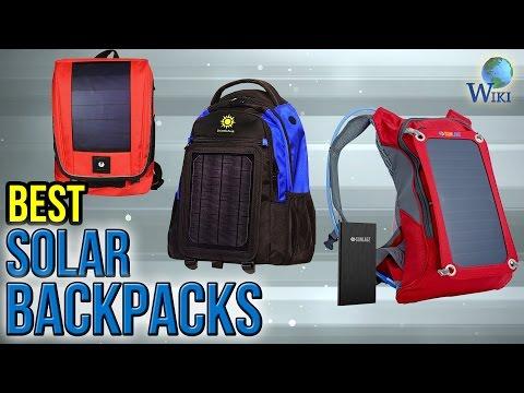 7 Best Solar Backpacks 2017