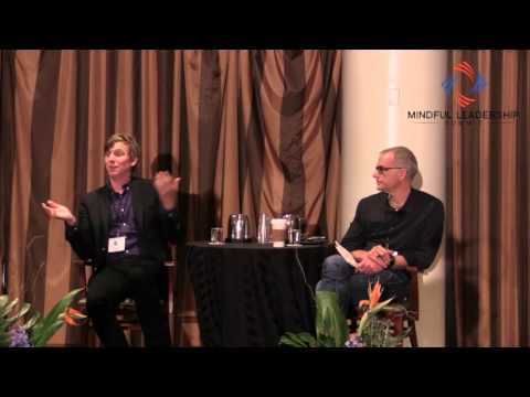 Matt Stinchcomb of Etsy and Jerry Colonna at Mindful Leadership Summit
