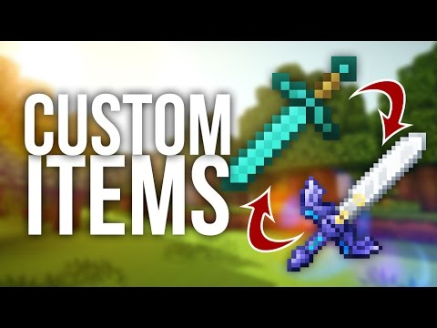 How To Easily Add Custom Items Into Minecraft
