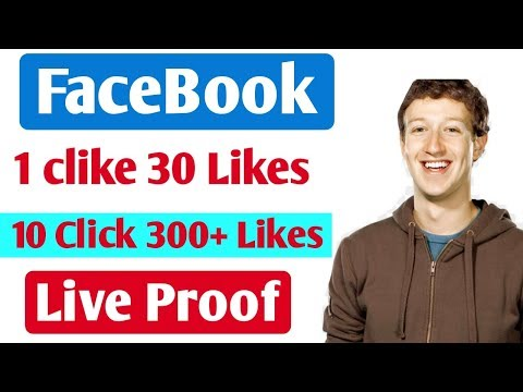 Just One Click Get 300 Facebook auto likes 2019